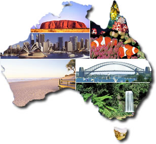 Australia online a to z of australia visitor information travel database from travel online - Australian tourism office ...